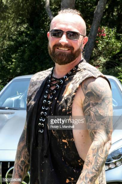 Lucas Oil Champion Justin Peck attends Regard Magazine's celebration of the ESPY Awards and their Special Annual Sports Edition at private residence...