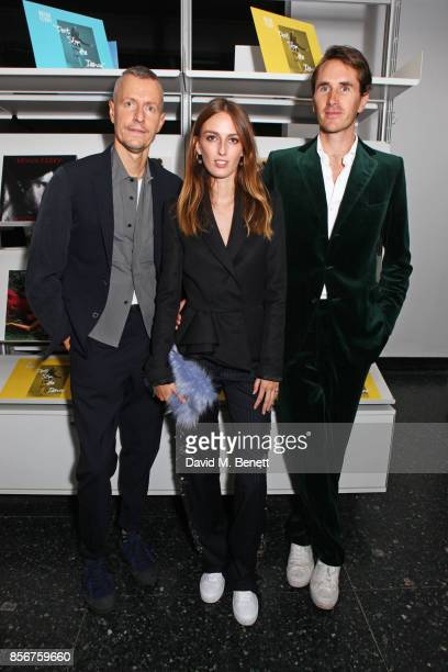 Lucas Ossendrijver artistic director for Lanvin menswear Lady Alice Manners and Otis Ferry attend The Annual Friends Of The Institute of Contemporary...