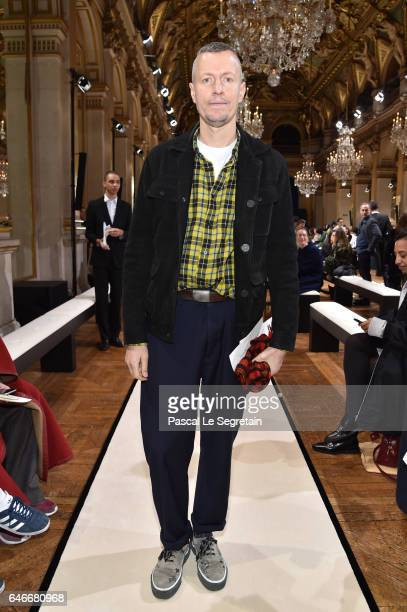 Lucas Ossendrijver attends the Lanvin show as part of the Paris Fashion Week Womenswear Fall/Winter 2017/2018 on March 1, 2017 in Paris, France.