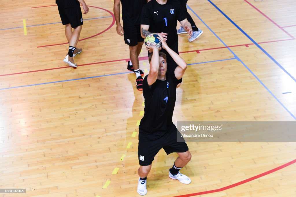 Lucas Pellas Of Montpellier During Trainning Of Montpellier Handball News Photo Getty Images