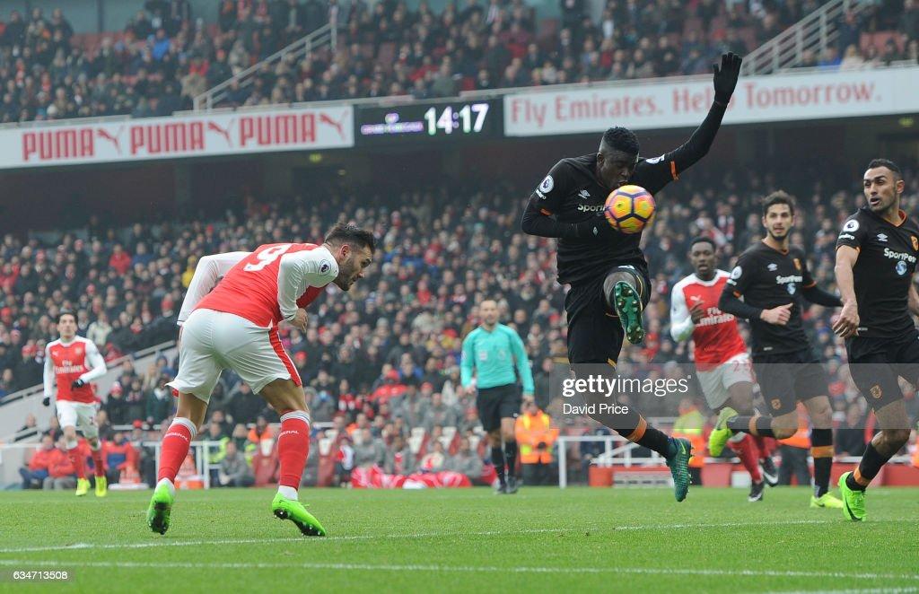 Arsenal v Hull City - Premier League : ニュース写真