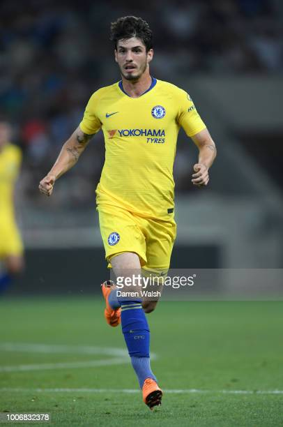 Lucas Piazon of Chelsea in action during the International Champions Cup 2018 match between Chelsea and FC Internazionale at Allianz Riviera Stadium...