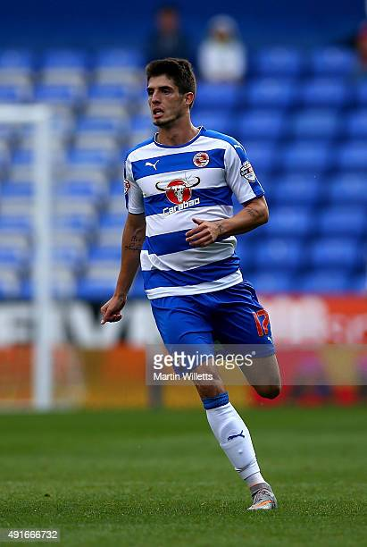 Lucas Piazon of Reading during the Sky Bet Championship match between Reading and Middlesbrough at Madejski Stadium on October 3 2015 in Reading...
