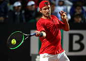 rome italy lucas pouille france plays