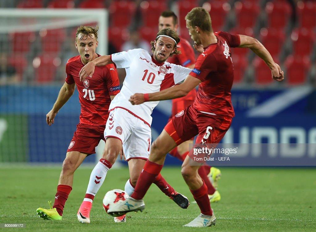Czech Republic v Denmark - 2017 UEFA European Under-21 Championship