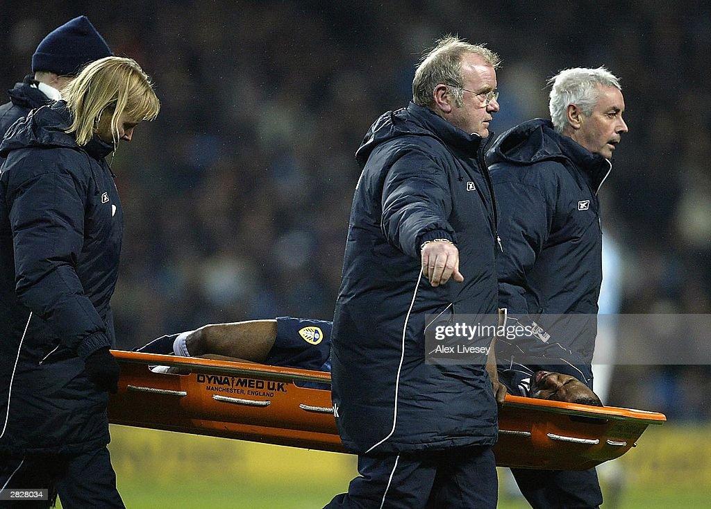 Manchester City v Leeds United : News Photo