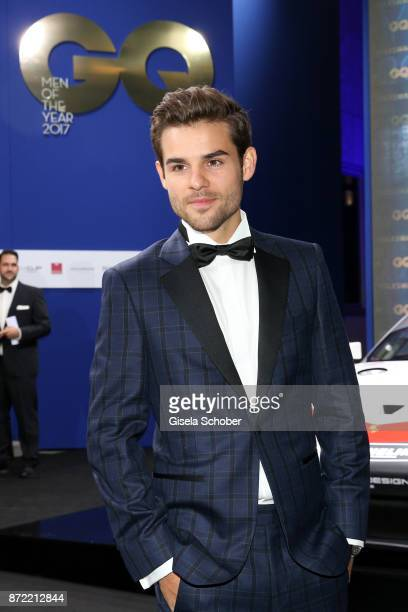 Lucas Reiber arrives for the GQ Men of the year Award 2017 at Komische Oper on November 9 2017 in Berlin Germany