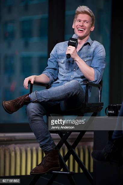 Lucas Steele attends AOL Build Series at AOL HQ on December 2 2016 in New York City