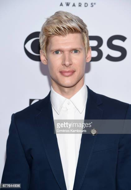 Lucas Steele attends the 2017 Tony Awards Meet The Nominees Press Junket at the Sofitel New York on May 3 2017 in New York City