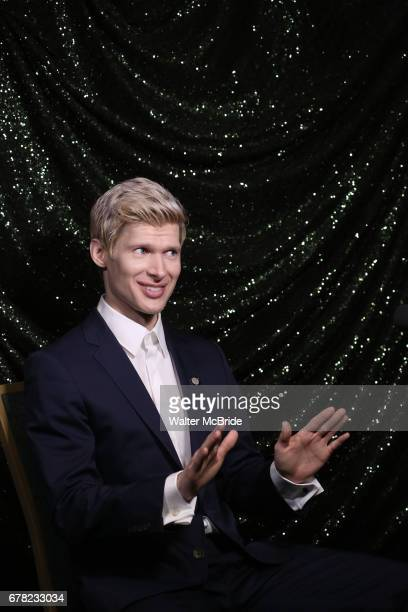 Lucas Steele attends the 2017 Tony Awards Meet The Nominees Press Junket at the Sofitel Hotel on May 3 2017 in New York City