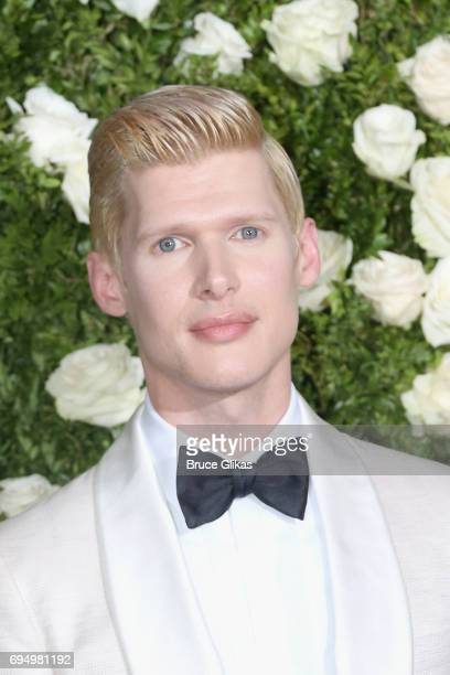 Lucas Steele attends the 71st Annual Tony Awards at Radio City Music Hall on June 11 2017 in New York City