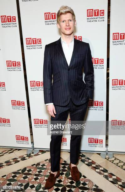 Lucas Steele attends the Manhattan Theatre Club spring gala 2017 at Cipriani 42nd Street on May 22 2017 in New York City