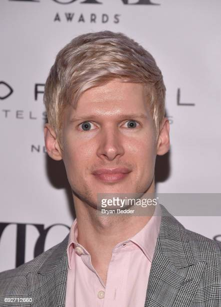 Lucas Steele attends the Tony Honors Cocktail Party presenting the 2017 Tony Honors for excellence in the theatre and honoring the 2017 special award...