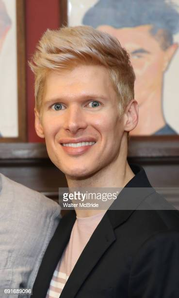 Lucas Steele during the Josh Groban Sardi's Portrait Unveiling at Sardi's on June 2 2017 in New York City