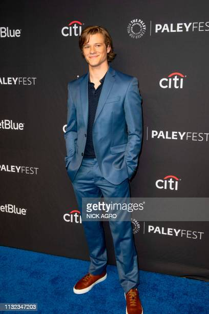 Lucas Till arrives for the Paley Center for Media's 2019 PaleyFest 'Hawaii Five0' 'MacGyver' And 'Magnum PI' March 23 2019 at the Dolby Theater in...