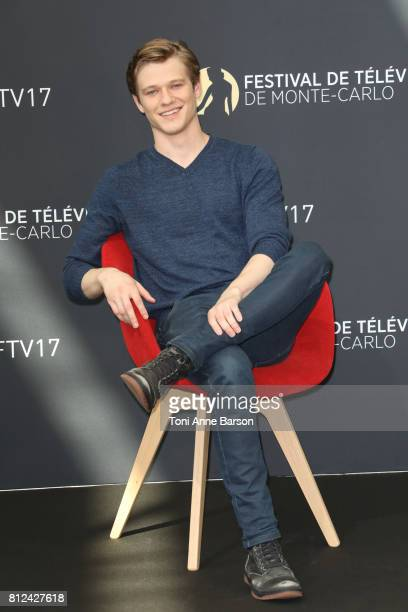 Lucas Till attends photocall for 'MacGiver' on June 17 2017 at the Grimaldi Forum in MonteCarlo Monaco