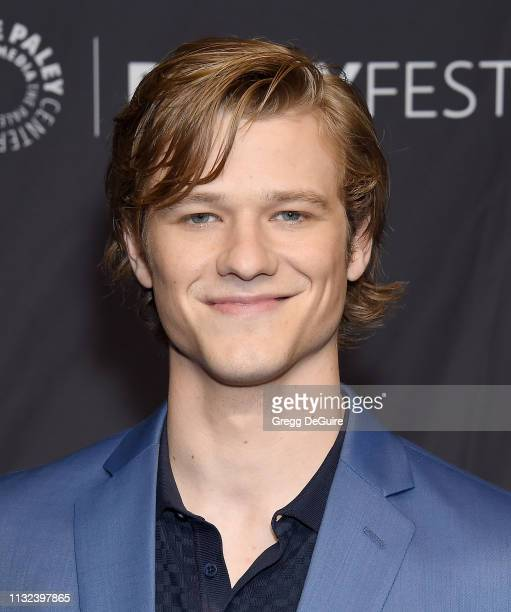 Lucas Till attends The Paley Center For Media's 2019 PaleyFest LA Hawaii Five0 MacGyver And Magnum PI at Dolby Theatre on March 23 2019 in Hollywood...