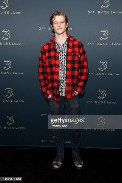 Lucas Till attends Upscale Sports Lounge 3rd Base Celebrates its Grand Opening at 3rd Base on December 04, 2019 in Los Angeles, California.