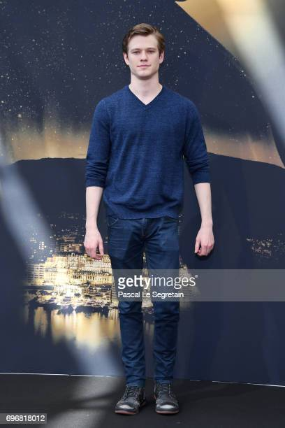 Lucas Till from 'MacGyver' attends a photocall during the 57th Monte Carlo TV Festival Day 2 on June 17 2017 in MonteCarlo Monaco