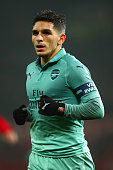 manchester england lucas torreira arsenal during