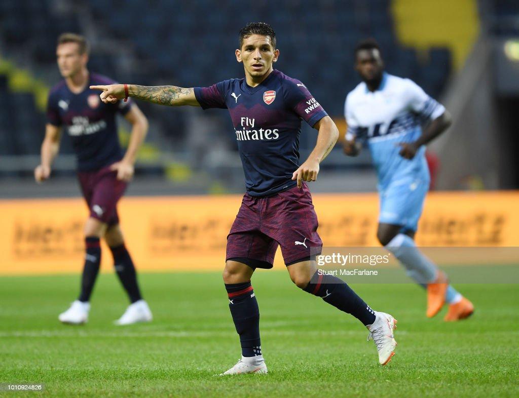 Arsenal v SS Lazio - Pre-Season Friendly : ニュース写真