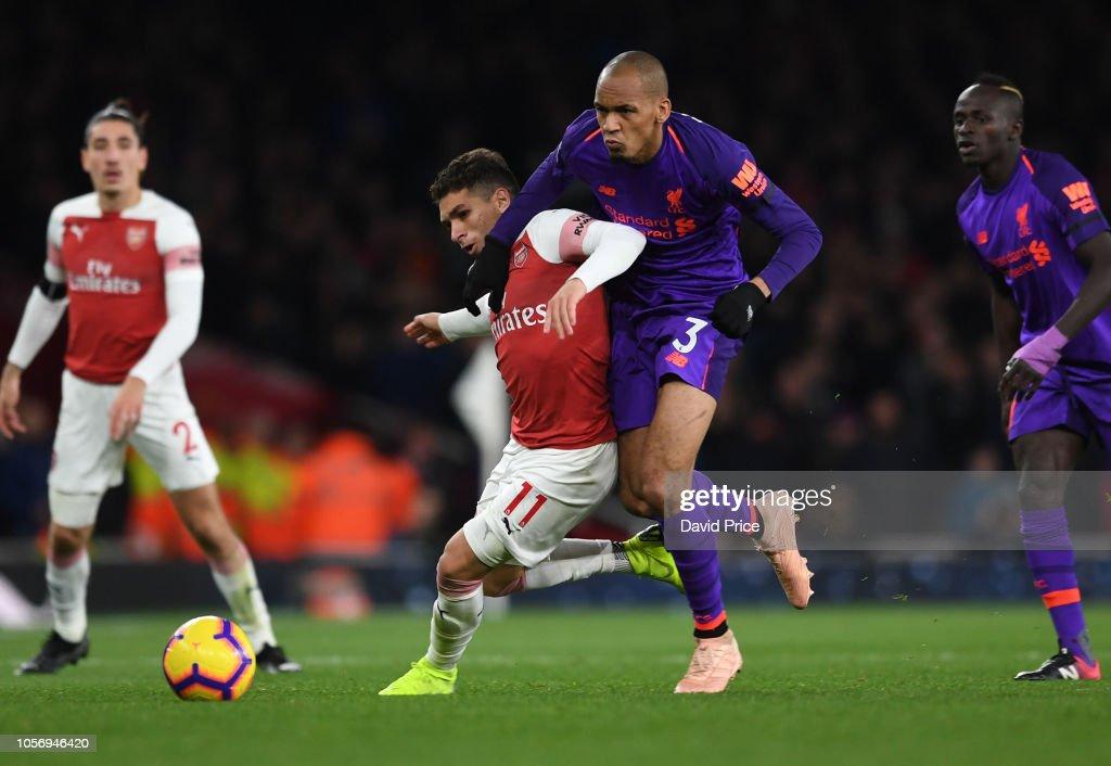 Arsenal FC v Liverpool FC - Premier League : News Photo