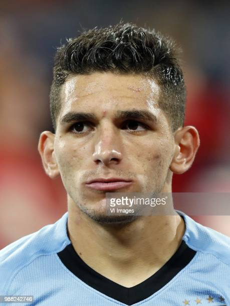 Lucas Torreira of Uruguay during the 2018 FIFA World Cup Russia round of 16 match between Uruguay and at the Fisht Stadium on June 30 2018 in Sochi...