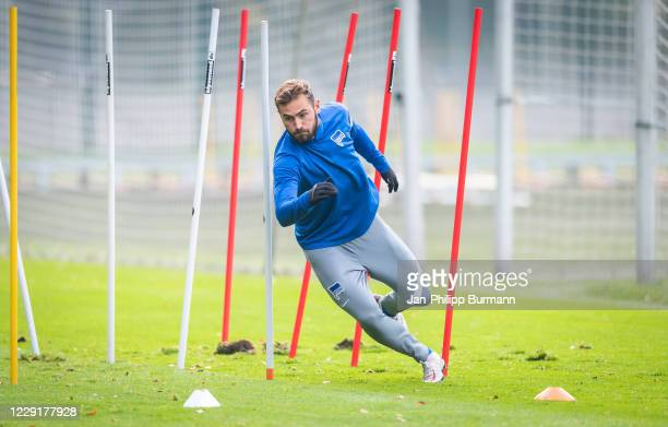 Lucas Tousart of Hertha BSC during the training session on October 20 2020 in Berlin Germany