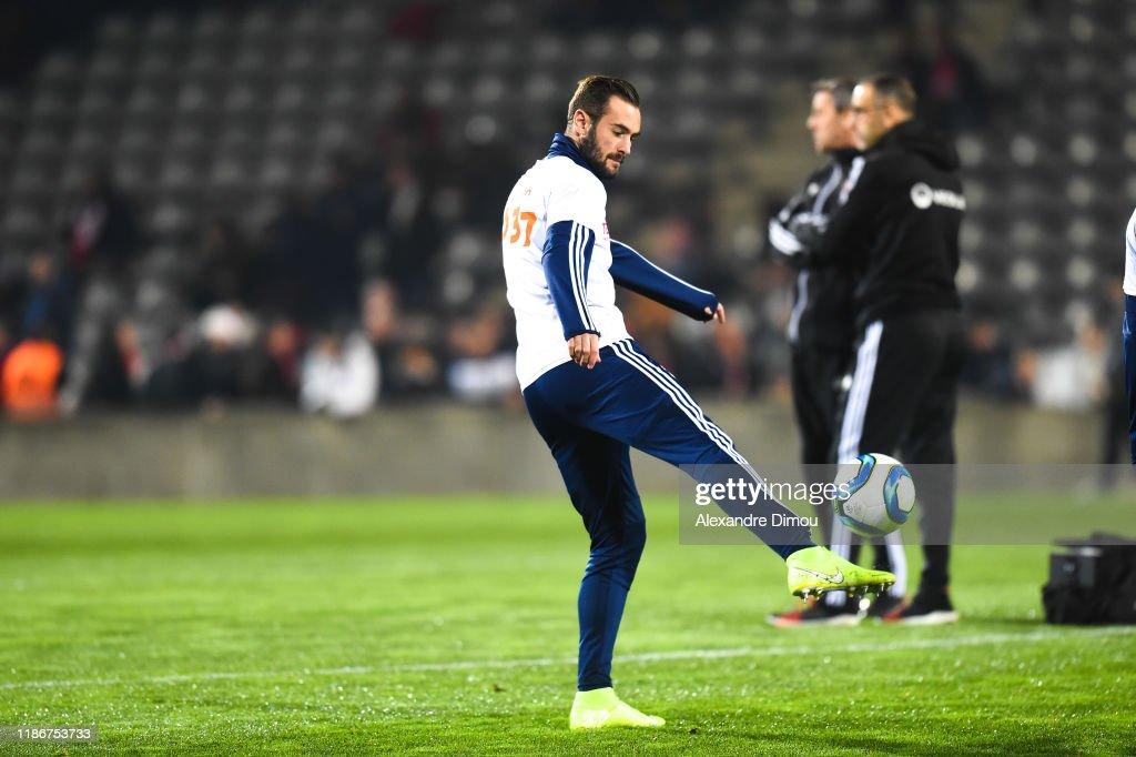 Lucas TOUSART of Lyon during the Ligue 1 match between Nimes and ...