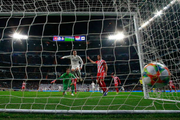 ESP: Real Madrid v Girona - Copa del Rey Quarter Final