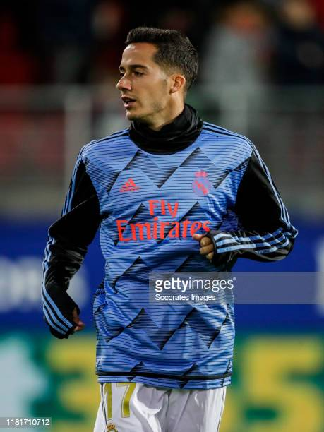 Lucas Vazquez of Real Madrid during the La Liga Santander match between Eibar v Real Madrid at the Estadio Municipal de Ipurua on November 9 2019 in...