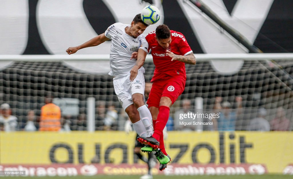 BRA: Santos v Internacional - Brasileirao Series A 2019