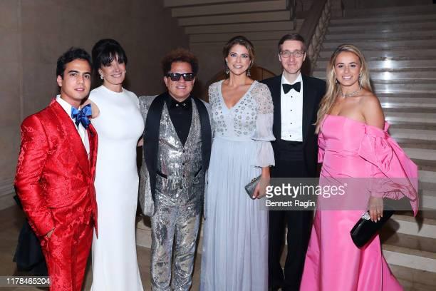 Lucas Vidal, Lola Thomas, Romero Britto, Princess Madeleine of Sweden, Howard Warren Buffet, and Lili Buffett attend the World Childhood Foundation...