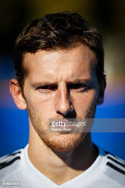 Lucas Vila of Argentina poses for pictures during Argentina Training Session at CenARD on July 21 2016 in Buenos Aires Argentina