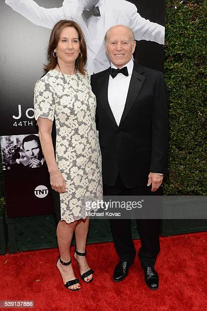 Lucasfilm President Kathleen Kennedy and producer Frank Marshall attend American Film Institute's 44th Life Achievement Award Gala Tribute to John...