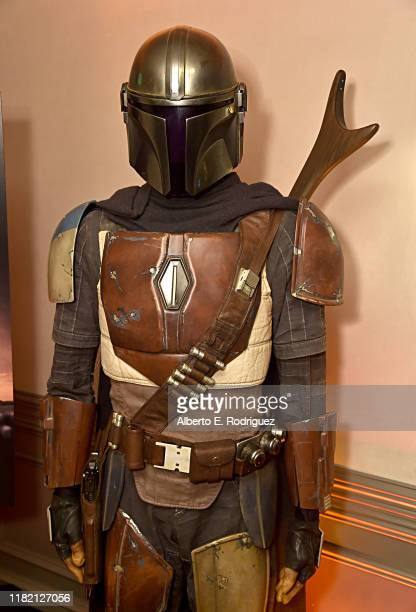 """Lucasfilm's """"The Mandalorian"""" at the Disney+ Global Press Day on October 19, 2019 in Los Angeles, California. """"The Mandalorian"""" series will stream..."""