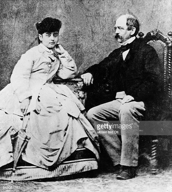 Lucca Pauline *18411908 ÖsterreichSängerin D mit Fürst Otto von Bismarckin Gasteinum 1870