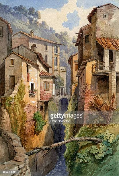 Lucca Tuscany Italy 1850
