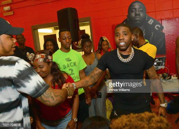 Lucci Regina Carter Host A Back 2 School Field Day Pictures