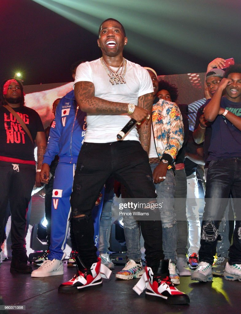 YF Lucci Performs at YFN Lucci In Concert at Center Stage on