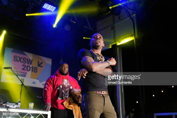 Lucci performs onstage at Pandora during SXSW at The Gatsby on March 14 2018 in Austin Texas