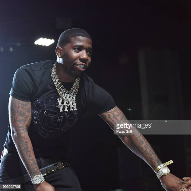 Lucci performs onstage during 2018 V103 Car Bike Show at Georgia World Congress Center on July 14 2018 in Atlanta Georgia
