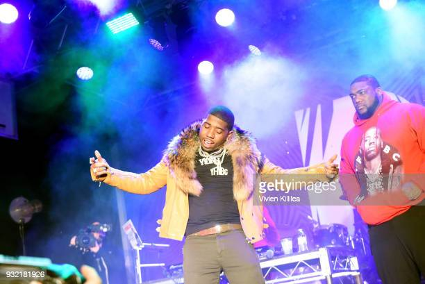 Lucci performs onstage during Pandora SXSW 2018 on March 15 2018 in Austin Texas
