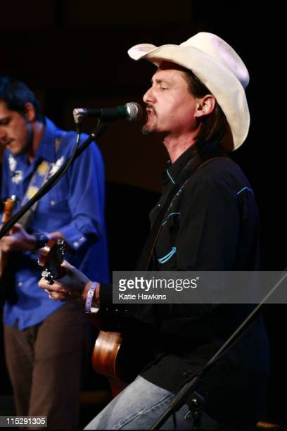 Luce Benedetti and Jorge Navarro of Cuban Cowboys during 20th Annual SXSW Film and Music Festival ME Television/DirtyChildrenUs Orange Room Day 5...
