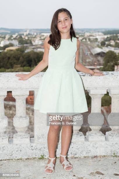 Luce Rodriguez attends the 10th Angouleme FrenchSpeaking Film Festival on August 26 2017 in Angouleme France