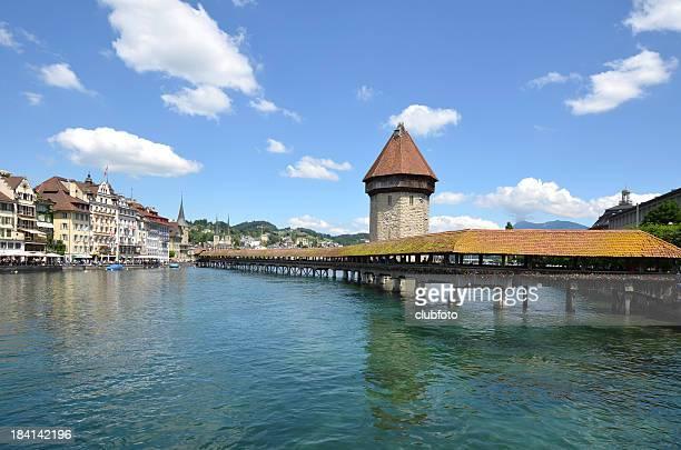Wasser in Luzern, Schweiz