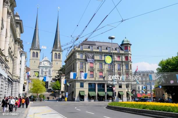 Luzern mit Kirche