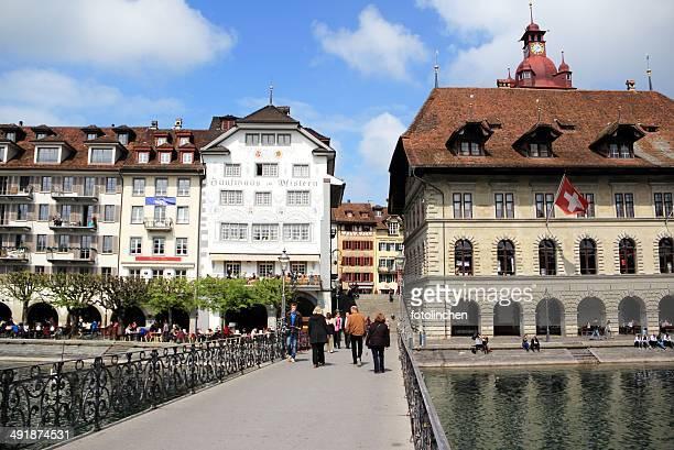 Luzern/Luzern Blick auf die Stadt