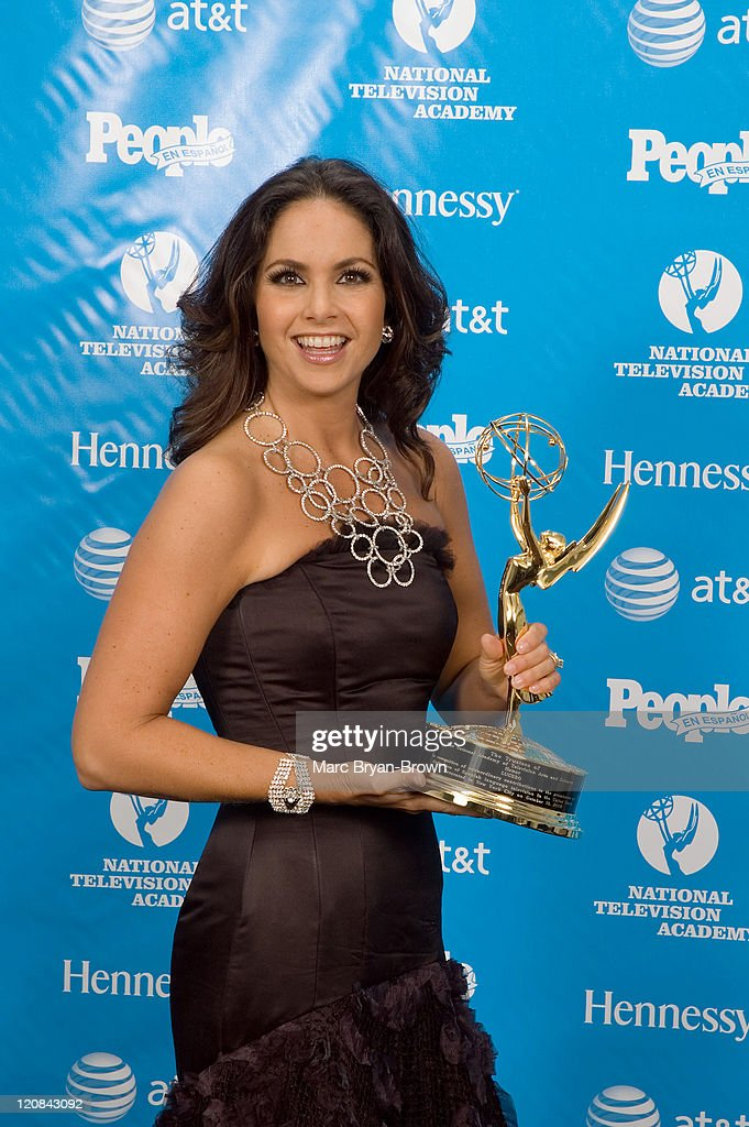 Second Annual Leaders in Spanish-Language Television Emmy Awards - Press Room : News Photo