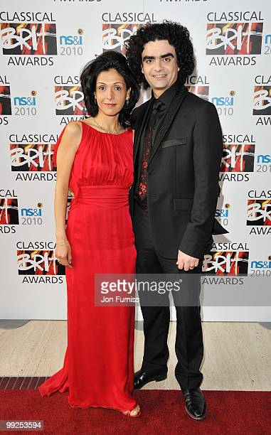 Lucia and Rolando Villazon attends the Classical BRIT Awards held at The Royal Albert Hall on May 13 2010 in London England